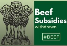 Beef subsidies being withdrawn