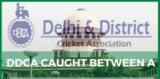 DDCA caught in a cleft stick