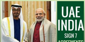 India, UAE sign 7 new agreements spanning various sectors