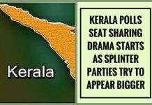 Seat sharing blues ahead of Kerala polls