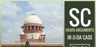 The Disproportionate Assets case of Tamil Nadu Chief Minister Jayalalithaa Jayaram was heard in the Supreme Court
