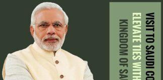 During Modi's visit to Saudi, Saudi Arabia wants to elevate ties with India