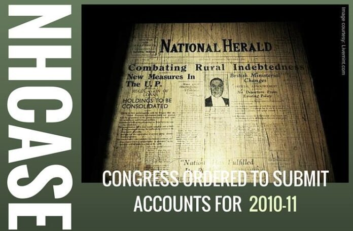 NHCase: Congress asked to submit its balance sheet for 2010-11. Is the end near?