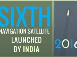 Once operational, Navigation satellite will be able to provide 24x7 weather for South Asia region under all weather conditions