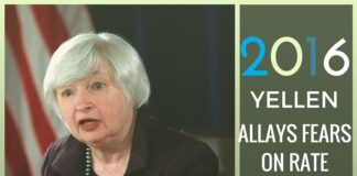 Yellen allays fears of a rate increase