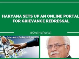 Online portal for grievance launched in Haryana