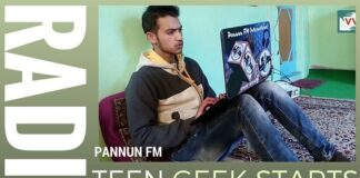 Teen from Kashmir sets up an online radio station