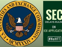 Is IEX application to be a national securities exchange denied?