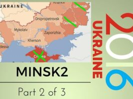 Russia and Ukraine signed Minsk2 agreement to resolve border disputes