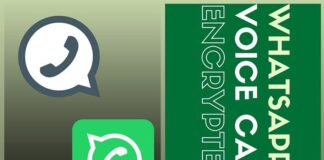 Are voice calls made on WhatsApp encrypted?