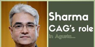 The current CAG Sharma was a key player in the #AgustaWestland deal