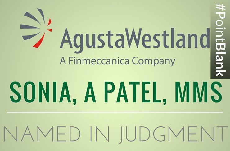 The complete judgment of Italian Appellate Court in Milan in the AgustaWestland bribery case.