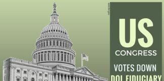 US House votes down DOL Fiduciary Bill.