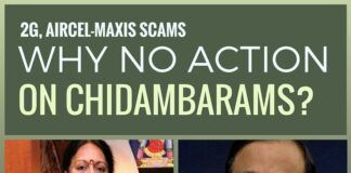 What is preventing Modi Govt. from acting against Chidambaram family?