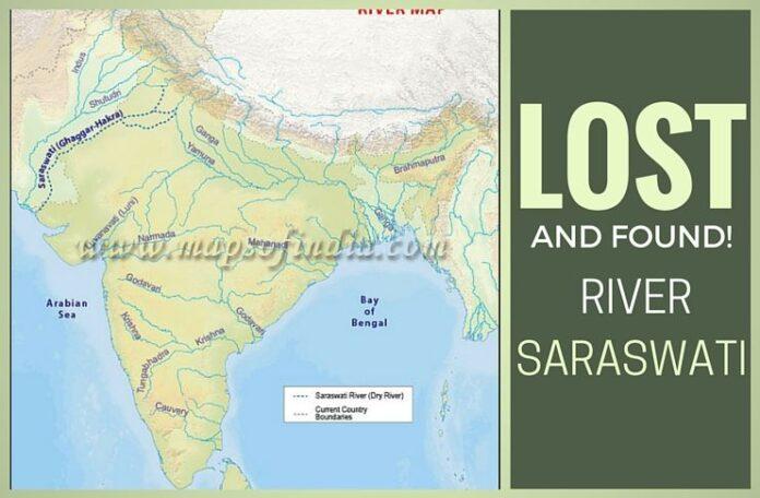 Did Krishna navigate on River Saraswati to escape the wrath of Jarasandha?