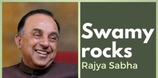 Swamy rocks Rajya Sabha forcing Congress to play defense