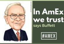 In #AmEx we trust, says Buffett