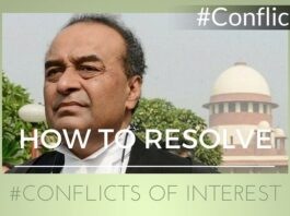 India needs a well defined set of rules to resolve conflicts of interest