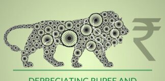 The impact of a depreciating rupee on Make in India initiative is discussed here