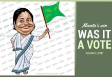 Did Bengal bring Mamta back because they are still shuddering from the trauma of CPM?