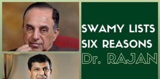 Swamy lists six specific allegations on why Rajan's term should not be renewed