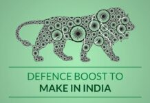 Post discusses the various ways in which Defence has helped boost Make In India initiative