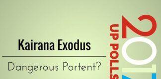 Kairana exodus a dangerous portent