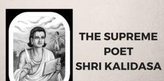 The Poet Kalidasa