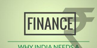 Op-Ed piece on why India needs a new Finance Minister