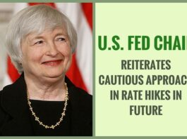 Global vulnerabilities would also put the U.S. economic growth at risk, said the U.S. Fed Chair