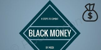 8 steps taken by the Modi government to curb the menace of Black Money