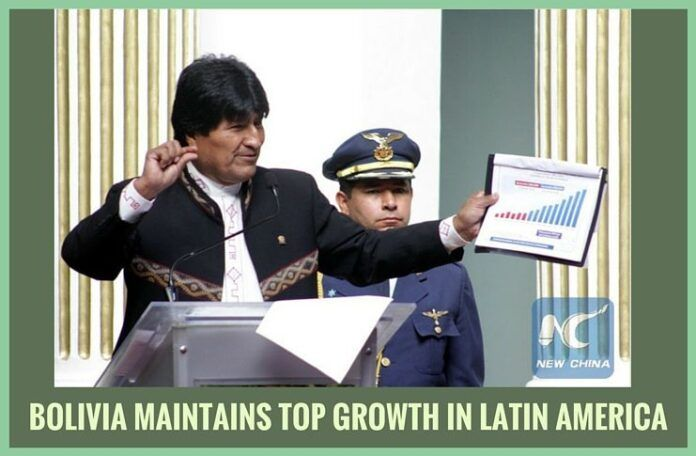 Report by Bolivia's National Institute of Statistics (INE)