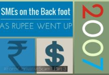 SMEs were on the back foot as the Rupee appreciated rapidly