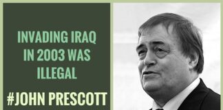 Britain joined the U.S.-led Iraq War in 2003