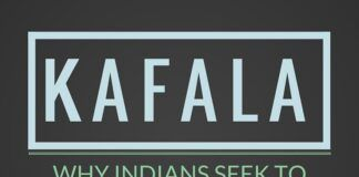 Despite slave labor like conditions due to a Kafala based employment agreement, Indians continue to work in the middle east