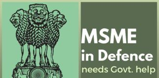 As India looks to be self-reliant in its Defence needs, SME sector can step up with the Government's help