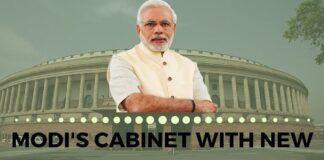New list of Modi's Cabinet