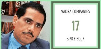 Since 2007 Vadra has opened/ closed 17 companies. What did they do?