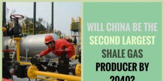 China drilled more than 600 shale gas wells