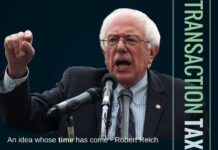 Financial Transaction Tax, a key suggestion of Bernie Sanders is an idea whose time has come