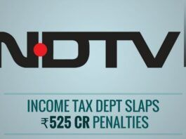 Income Tax Dept. observes that a deliberate attempt was made by NDTV to conceal a $150 million investment