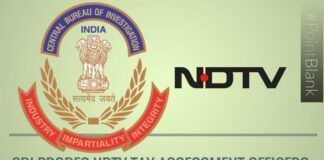 CBI probes IRS officers connected with NDTV tax assessments