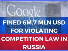 Google fined in Russia