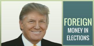 New low for American Politics - Both candidates are by soliciting funds from foreign donors/ entities