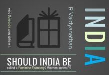 Since India is a women centric civilization, should it be called a Feminine economy?