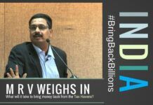 M R Venkatesh on Black Money - What will it take to bring it back from the Tax Havens?