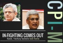 Is CPI-M's Karat accusing Yechury of heading the AwardWapsi campaign?