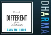 In this video, Some fundamental differences between Dharma and Christianity are discussed