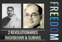 Concept of freedom and how to achieve it - as visioned by Rashbehari and Subhas