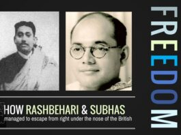 How Rashbehari and Subhas managed to repeatedly escape from right under the nose of the British